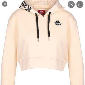 Like new kappa crop hoodie